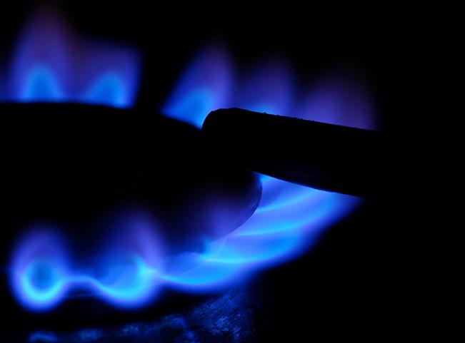 gass-flamme